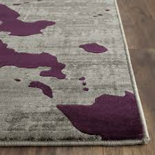 most topnotch grey and purple area rug roselawnlutheran for