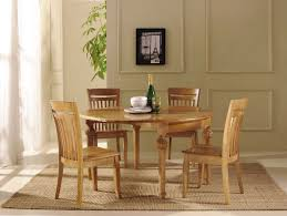 image of wooden dining room chairs set also round table together with minimalis