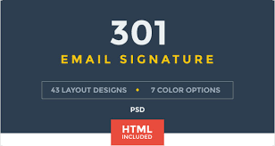Email Signature Html 50 Best Professional Html Outlook Email Signature Designs