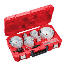 Milwaukee Hole Saw Size Chart Hole Dozer All Purpose Professional Hole Saw Kit 28pc