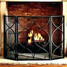 Unique fireplace screens Stained Glass Fireplace Wealthytradersco Fireplace Curtain Fireplace Curtain Fireplace Fireplace Mesh Curtain