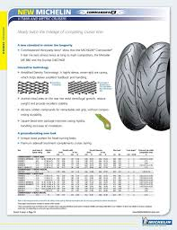 Harley Davidson Tire Pressure Chart 2012 Michelin Motorcycle Tire Fitment Guide Pdf Free Download