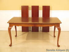queen anne dining room table. lf23665 monitor solid cherry queen anne dining room table