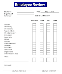 Construction Employee Review Template Evaluation Form Template Word Free Employee Self Evaluation