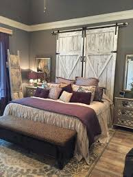gorgeous unique rustic bedroom furniture set. beautiful replica barn doors great for use as room divider headboard wall accent gorgeous unique rustic bedroom furniture set e