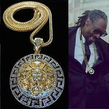 image is loading mens iced out rapper round medallion pendant gold