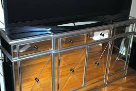 diy mirror tv home decor large size furniture long mirrored console table with drawer and cabinet diy mirror tv