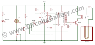 automatic iron box best electronic science fair project for school circuit diagram of automatic iron box project