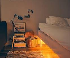Image Bed Frame Pinterest Led Motion Sensor Under Bed Light