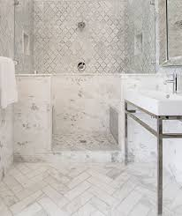 white tile bathroom floor. Unique Floor White And Grey Tile To White Tile Bathroom Floor E
