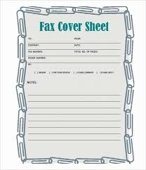 Blank Fax Cover Sheet Printable Elegant Free Fax Template