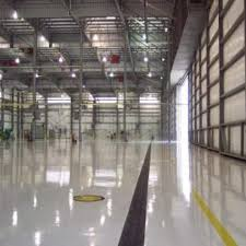 manufacturing line striping epoxy floor painting