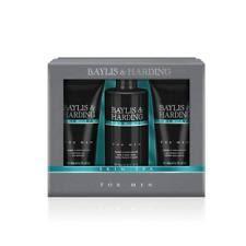baylis harding skin spa men s grooming trio gift set