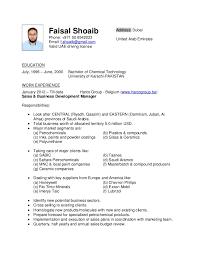 Resume // Faisal Shoaib