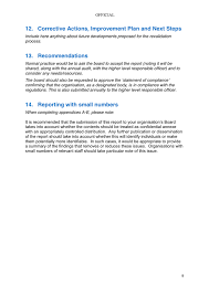 Board Report Template Word Annual Board Report Template In Word And Pdf Formats Page