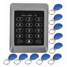 <b>rfid</b> security reader entry door lock <b>keypad access control</b> system+10 ...