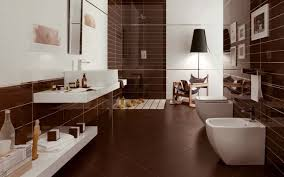 bathroom ceramic tile patterns light brown ceramic tiled design in shower room i shaped vanity bathroom