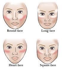 contour diffe face shapes