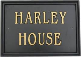 Small Picture House Name Signs Lumley Designs