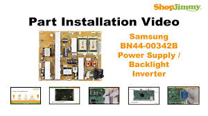 samsung tv inverter. samsung tv ln55 repair bn44-00342b power supply / backlight inverter boards replacement guide - youtube tv