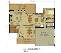 2 Story 4 Bedroom Floor Plan Two Car
