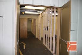Build an office Garage Drummondwarehouse2ndlevelofficebuildoutbefore 7 123 Remodeling Commercial Officewarehouse Buildout In Kelvyn Park 123 Remodeling