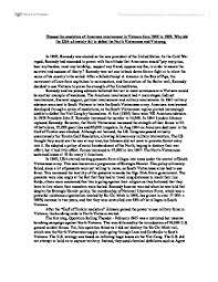 vietnam war representation work in this essay i will evaluate  escalation of american involvement in vietnam