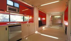 shipping container house interior. interior-of-shipping-container-home-that-slides-out-built-by-lot-ek shipping container house interior e