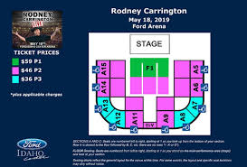 Seating Chart Ford Idaho Center Events Rodney Carrington Live Ford Idaho Center