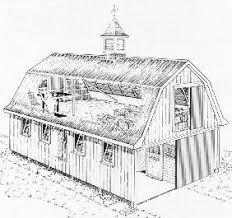 Gambrel Roof House  ZijiapinGambrel Roof House Floor Plans
