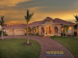 Tuscan Style House Plans  Floor Plans  Home Plans Plan   Weber    Villa Napoli House Plan Tuscan Style House Plans