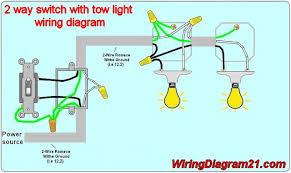 2 way switch wiring diagram schematics baudetails info 2 light switch wiring nilza net