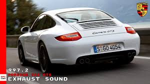 Guess if you want a fast track car from porsche it's gotta be the gt3 rs, or. Porsche 911 Gts 997 2 Exhaust Sound Youtube