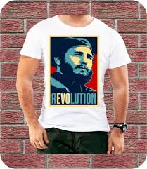 фидель кастро революция куба для мужчин футболка