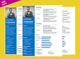 Free Resume Templates 2015 Microsoft Word Resume Template Free By Graphicslot On Dribbble