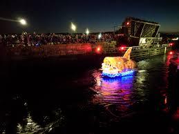 Gloucester Parade Of Lights Shark Boat Parade Of Lights Schooner Festival 2018 Good