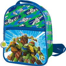 ninja turtles rugzak 24 cm extra voorvak