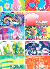 Tie Dye Patterns Adorable Tie Dye Design Tie Dye Patterns Instructions Pinterest Tifftateme