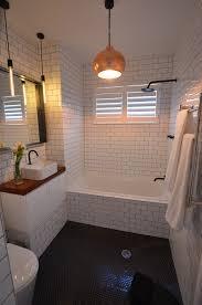 bathroom subway tile floor. Bathroom Vanities And Contemporary With White Subway Tile Black \u0026 Floor