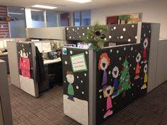 office cubicle christmas decorations. Contemporary Decorations Merry Christmas Charlie Brown Cubicle Decorating Office Peanuts Snoopy To Office Christmas Decorations