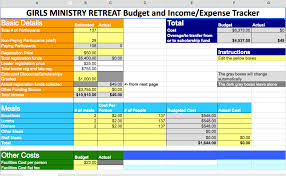 Best Budget Templates The Best Girls Ministry Retreat Budget Template Ever