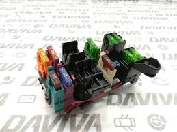 mb mercedes benz dash dashboard small fuse box fusebox module unit small fuse box for shed at Small Fuse Box