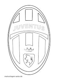 Sjabloon Logo Juventus Turijn Gratis Kleurpaginas Om Te Downloaden