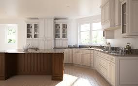 installing the glazing kitchen cabinets. Brantley Antique White RTA Cabinets Installing The Glazing Kitchen