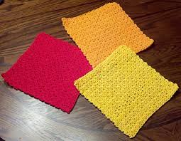 Easy Crochet Dishcloth Patterns New Ravelry Easy Dishcloth Pattern By Cheri Mancini
