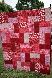 Lap Quilt Patterns Extraordinary Easy Lap Quilt Sewing Ideas Pinterest Lap Quilts Red Fabric