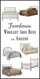 40 Inexpensive Farmhouse Style Wrought Iron Beds - Twelve On Main