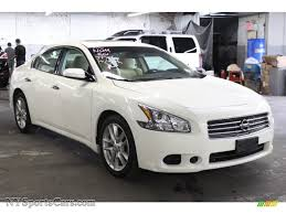 2009 Nissan Maxima 3.5 S in Winter Frost White - 861345 ...