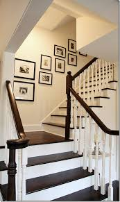 Decorating: Stairwell Wall Art - Gallery Wall