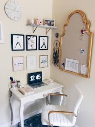 small home office space. How To Style A Small Home Office Space D